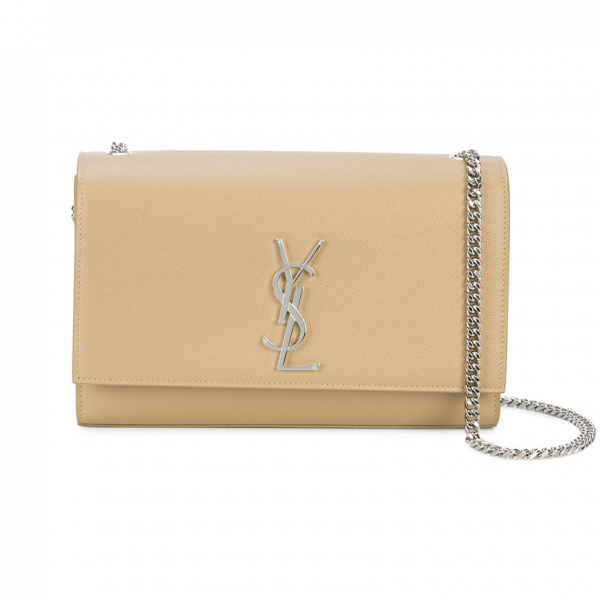 38bfacd1ad79 Yves Saint Laurent - Medium Kate Chain Bag in Powder Textured Leather